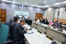 Kunjungan Hormat YB Ustaz Sulaiman Sulong (Adun Pengkalan Berangan)