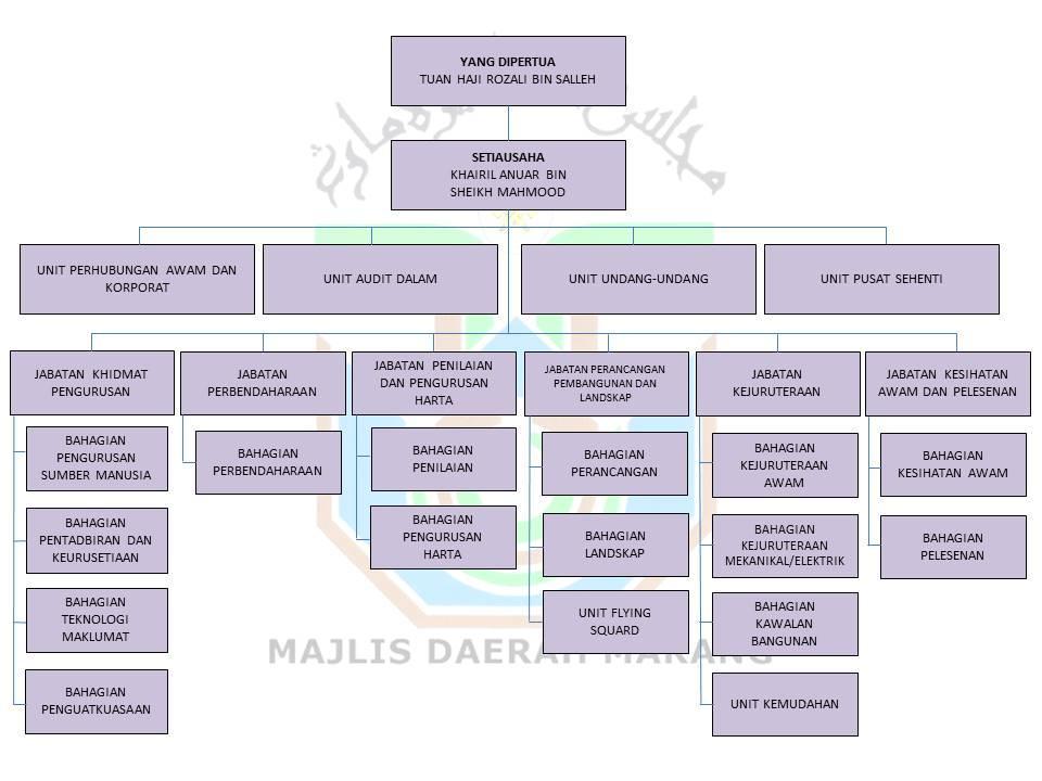 Carta Organisasi MDM