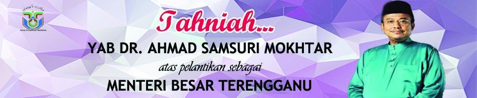 Tahniah MB Terengganu ke-15